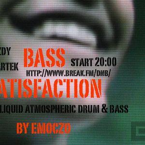 BASS SATISFACTION 21.6.2012 MIXED BY EMOCZO