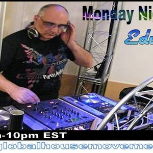 Mix Set for Global House Movement - The Monday Night Jam by Edu KVG 02-18-2013