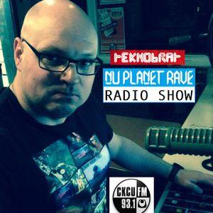 TEKNOBRAT The Nu Planet Rave Radio Show Episode 053 on CKCU 93.1 FM 2014-12-07