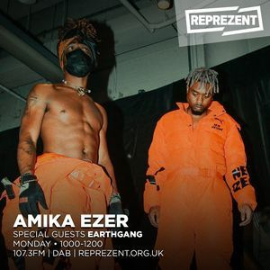 The most unique dopest of guys - Earthgang are on the show on Reprezent Radio! 11/03/19
