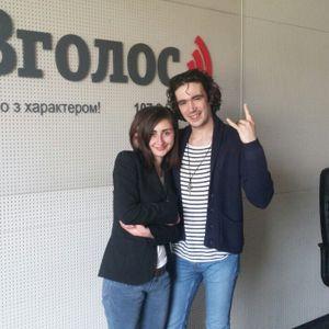 Гурт Epolets, вокаліст Павло Варениця на радіо Вголос