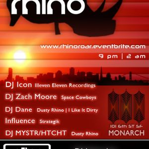 DJ Dane at Rhino Roar