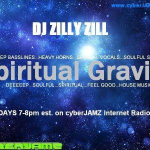 SPIRITUAL GRAVITY BOSTON WITH DJ ZILLY ZILL LIVE ON CYBERJAMZ 1/21/14