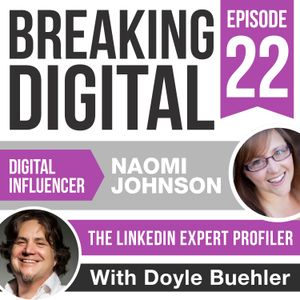 Naomi Johnson Is The Linkedin Expert Profiler; Bringing Expertise To Your Linkedin Profile