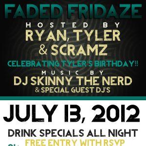 Crooklyn Cats present FADED FRIDAZE (the mixtape)
