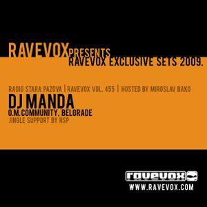 Manda - Exclusive dj set for RAVEVOX Radio - 2009 (part 1)