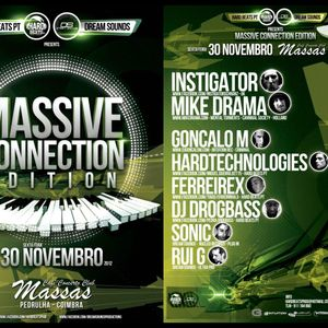 DJ GONCALO M @ Massas Club    Coimbra    Portugal 30.11.2012.