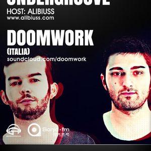 Undergroove Radio Show - w/guest DOOMWORK (September 2012)