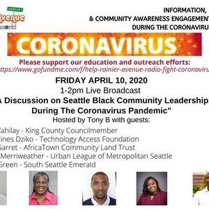 Coronavirus Special 15 - Black Leadership in Seattle