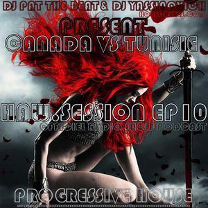 "Dj yassinovich - HAW.SESSION EP 10 (official radio show & podcast) [incl Dj guest ""DJ p.t.b""(canada)"