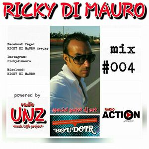 RICKY DI MAURO dj set MIX #004 per BOUDOIR su RADIO ACTION
