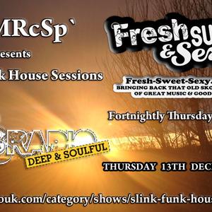 DJ MRcSp` Pres. Slink Funk House Sessions (67th Edition 13th Dec 2012) FSS Promo