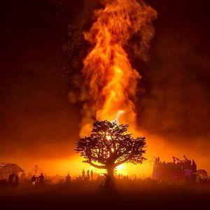 Naeno - Mystic Flyer - Burning Man 2017 - Saturday Night Burn P2