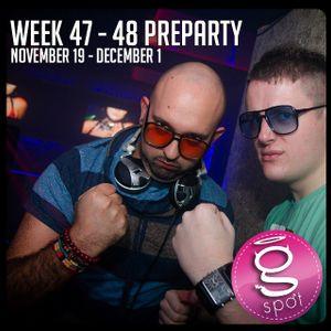 WEEK 47-48 (November 19 - December 2) Preparty