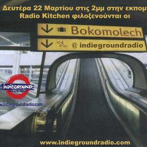 Radio Kitchen show-Interview with the band 'bokomolech' in 22-03-10 @ Indieground Radiο