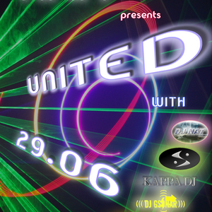 UITED EPISODE 003 - 29/06/2012 - DJ GSONAR SET