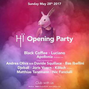 Matthias Tanzmann@ Hï Ibiza Opening Party [Space Club, Ibiza] 28.05.2017