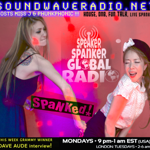 Dave Aude Interview, Miss J, Phunkphonic SPEAKER SPANKER soundwave radio