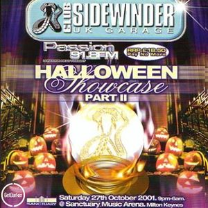 DJ EZ & MC's CKP, DT & Viper + more – Sidewinder Halloween Ball – 2001