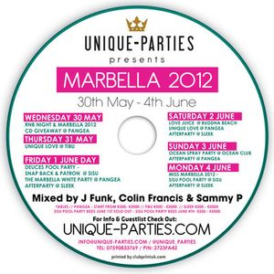 J Funk, Colin Francis & Sammy P - The Only Way Is Marbella 2012