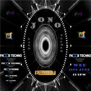 Jono - Reactiv 04 Fnoob Techno Radio - 22nd June 2016 - Dark Techno mix