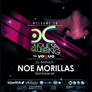 Noe Morillas live set @ Duquesa Clubbing (May 2012)