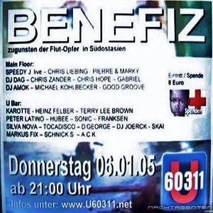 Dj Good Groove @ Benefiz Party - U60311 Frankfurt - 06.01.2005