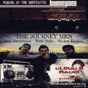 """CLOUD 9 RADIO HOSTED BY MRGREYCLOUD SPINS """"PLEDGE OF THE RESPIRATOR"""" BY THE JOURNEY MEN AND MORE"""