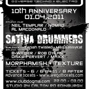 Nomad DJ Set @ Dogma 10th Birthday Bash April 2011
