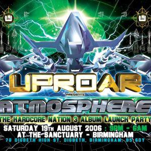 DJ Smurf at Uproar. Birmingham, England - 19/8/2006