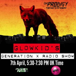 The Day Is My Enemy Showcase @ GL0WKiD Generation X - Planet Rave Radio (07APR2015)