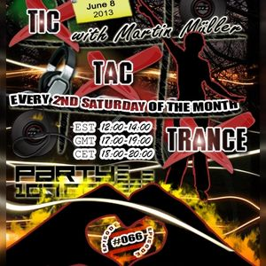 Tic Tac Trance #066 with Martin Mueller