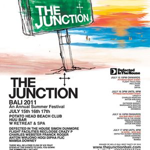 DJ HOGI - live @ THE JUNCTION FESTIVAL 2011 @ Potatohead Bali