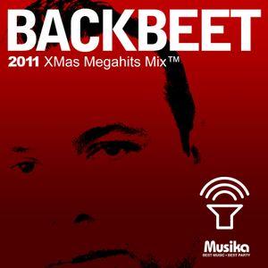 BackBeet 2011 XMas Megahits Mix™ Mixed Live by Sergio A. Rodriguez (BackBeet)