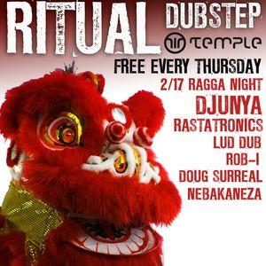Nebakaneza Live at Ritual's First Ragga Night (Dubstep Mix #8 - Deep Reggae Vibes)