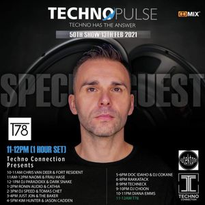 DJ Paradoxx & Darksnake Collaboration - Techno Pulse #50
