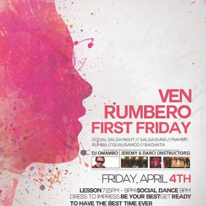 VEN RUMBERO FRIDAY SOCIAL SALSA DANC MIX