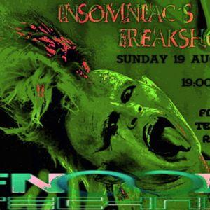INsOMNIAC FREAK - FnOOB TECHNO Radio 19.08.2012