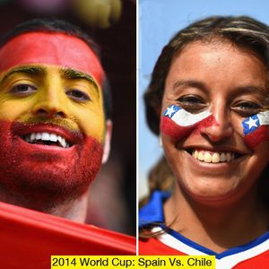 Spain vs Chile - World cup special