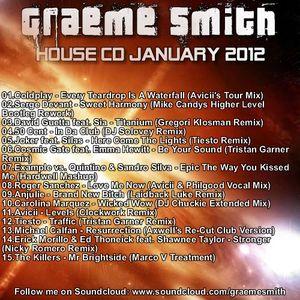 Dj Graeme Smith - House Mix - 4th January 2012