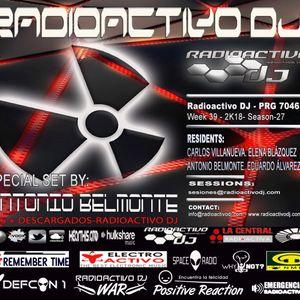 RADIOACTIVO DJ 39-2018 BY CARLOS VILLANUEVA