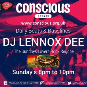 DJ Lennoxdee Live on Conscious sounds radio 1st Jan 17