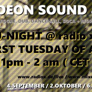 @ X-Fade DJ-Night - 04.09.12 ls. Free Roots Sound & Jinjaman