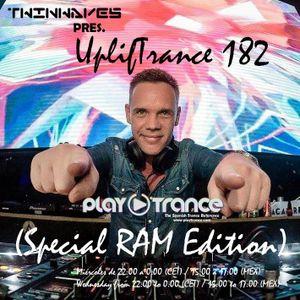 Twinwaves pres. UplifTrance 182 (Special RAM Edition) (01-02-2017)