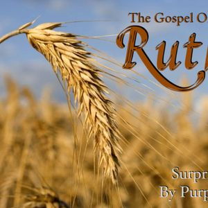 The Gospel of Ruth--Surprised by Purpose