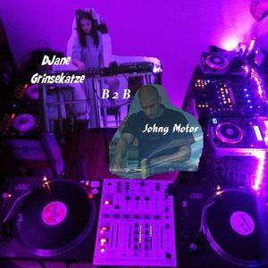 "DJane Grinsekatze B2B with Johny Motor - """" Part 1/2"