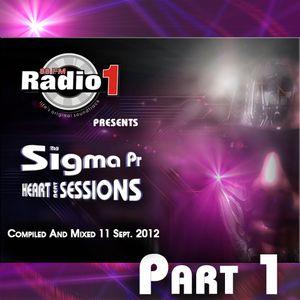 Dj Stergios T. aka Sigma Pr - The Heart Beat Sessions Mix @ Radio1  Sept  Week 2  Part 1