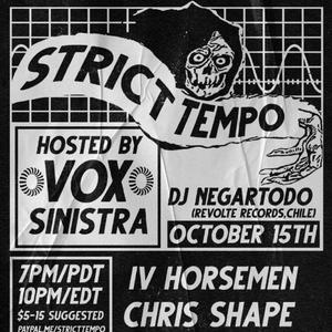 Strict Tempo 10.15.2020 (Artificial Delight)