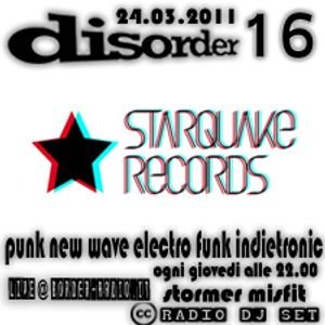 disorder 16 - starquake records