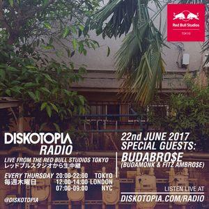Diskotopia Radio 22nd June 2017 w/ BudaBro$e